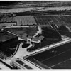 An aerial shot of the immediate area encompassing the Union Stock Yards, 1925