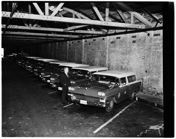 New Fords for post office, 1958