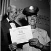 Postman's award, 1958