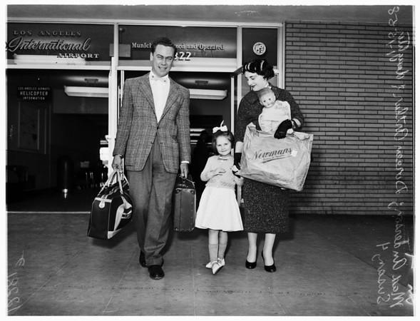 Correspondence bride (from England), 1958