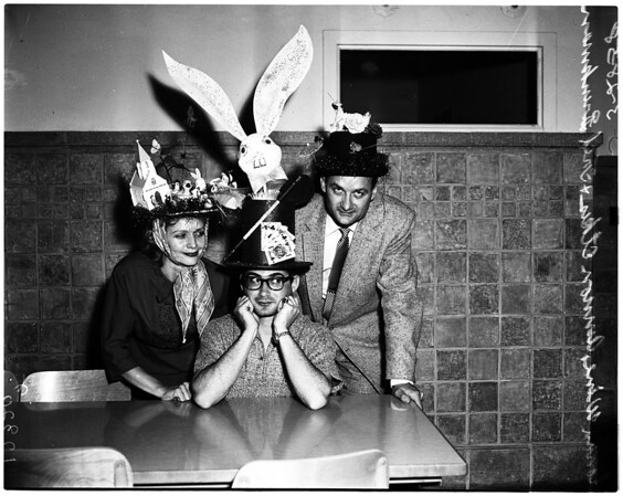 Hat contest (Trade Tech), 1958