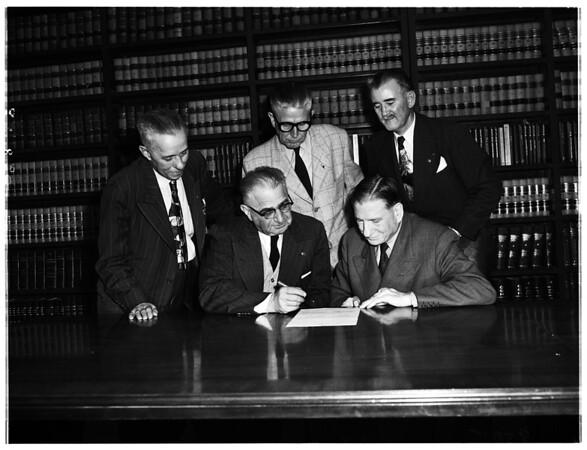 Democrats for Nolan group (handout), 1952