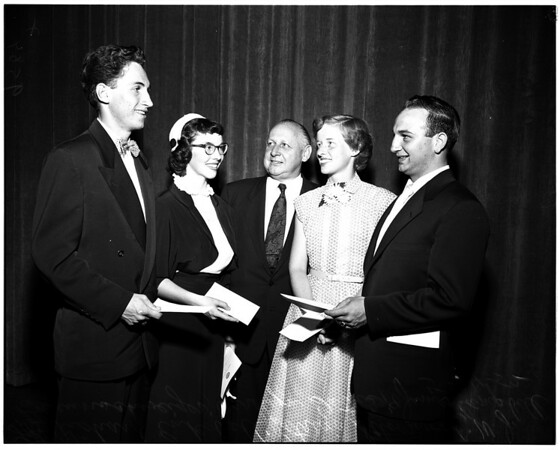 Bank of America achievement awards, 1952
