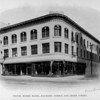The Victor Marsh Block at the corner of Raymond Avenue and Green Street, ca. 1890-1910