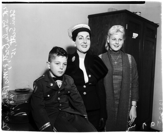 Child custody case, 1958