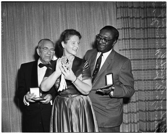 "Urban League ""American Teamwork Award"", 1958"