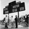 New scoreboard dedicated at Roosevelt High School, 1958