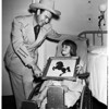 Tex Williams at Children's Hospital, 1952