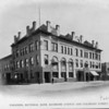 The Pasadena National Bank Building at the corner of Raymond Avenue and Colorado Street, ca. 1880-1910