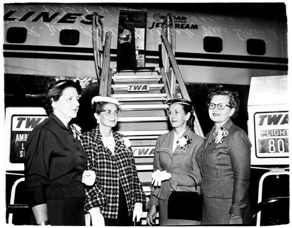 League of Women Voters convention, 1958