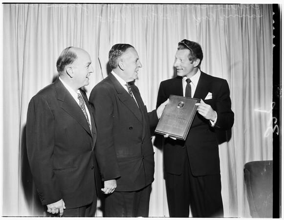 Hoffman presentation, 1951