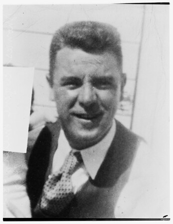 Missing... last seen December 6, 1951... employed by City of Oakland, Engineering Department, 1952