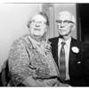 Golden wedding anniversary, 1958