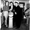 """New ship Steamship """"Havelland"""", 1958"""