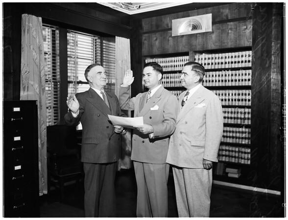 Judge Paul J. McCormick, 1947.