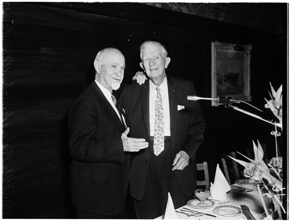 Doctor Hunt's birthday, 1958