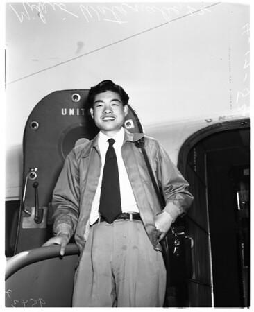 Essay contest winner from Japan, 1952