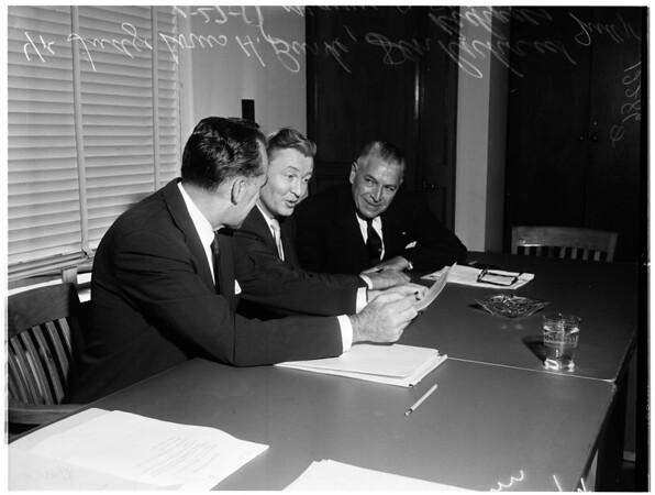 Court hearing, 1958