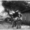 """Fire"" ...Six Garages at 727-31 Beacon Avenue ...Suspicion of Arson, 1951"