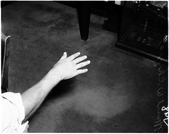 Mickey Cohen, 1958
