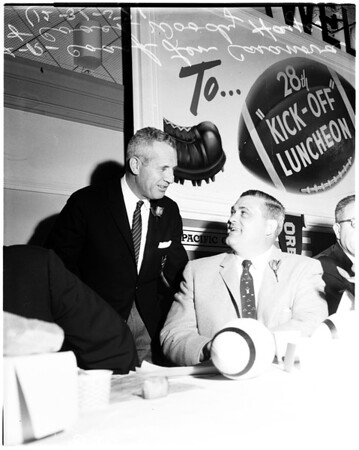 Kickoff luncheon, 1957