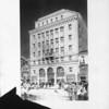 A drawing of the Pasadena Furniture Company building, Pasadena, [s.d.]