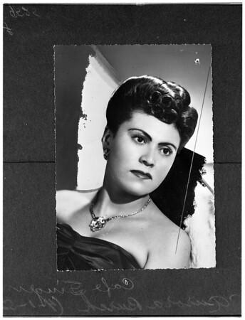 Aurora Burch (copy negative), 1952