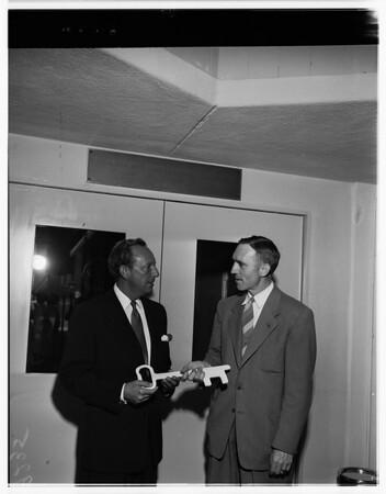 Key presentation, 1951