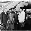 Diplomats from Philippines enroute to Rome visit Los Angeles, 1952