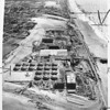 Air view of Hyperion project sewer plant, Los Angeles, 1950