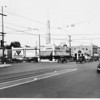 The intersection of Washington Blvd. & Western Ave., Los Angeles, facing north, 1929