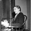 Interview at Huntington Hotel, 1951