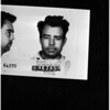Suspect in kidnap-rape-attack of two little girls, 1958