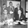 Parker suit settlement, 1958