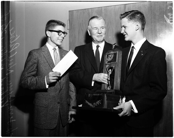 Hi-Y Boy of the Year, 1958