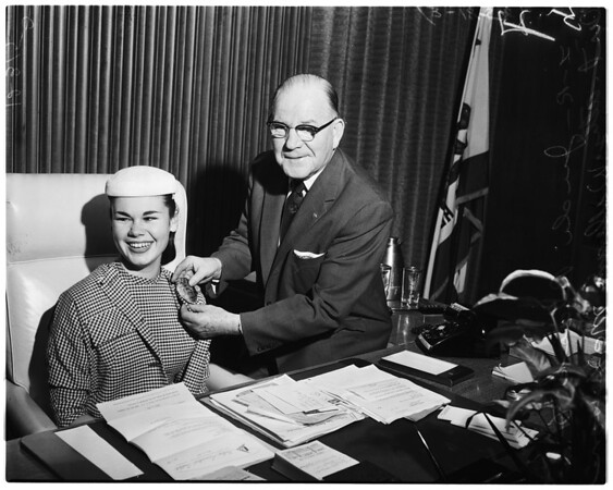 Honorary District Attorney (Girls Week), 1958
