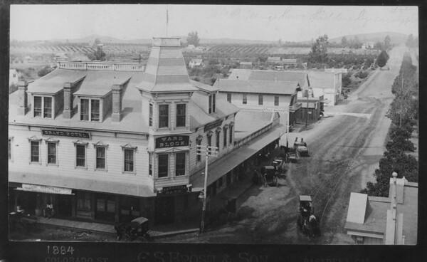 Colorado street, 1884