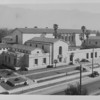 A rooftop view of the Pasadena Public Library, 1929