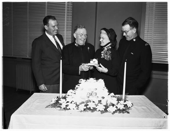 Golden wedding anniversary (Salvation Army), 1952