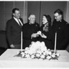 Golden wedding anniversary (Salvation Army), 1952