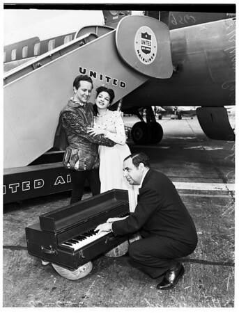 Last minute rehearsal, 1952