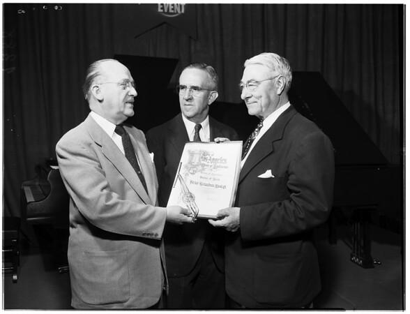 Birkel-Richardson Anniversary, 1951