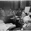 Rose Hills project hearing, 1951