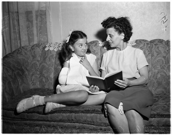 Schoolyard accident, 1951