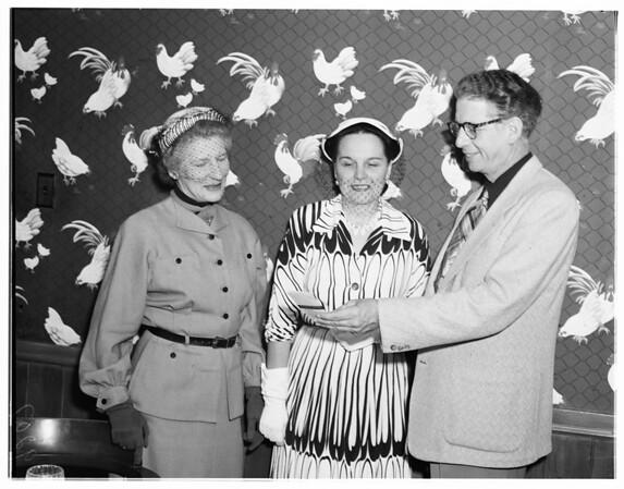 Mrs. Robert Stahl, 1951