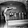 YMCA swim class, 1958.