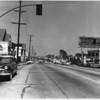 Sunset Strip daytime, looking east at Hammond Street