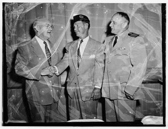 Coast Guard anniversary luncheon, 1951
