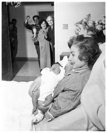 Last baby of 1957, 1958