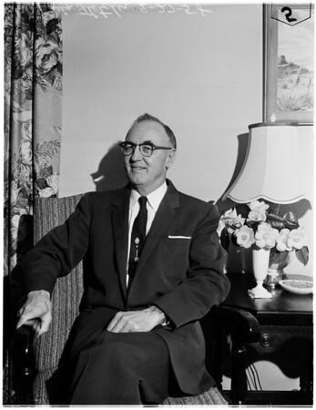 New judge, 1958.